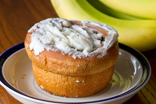 Cinnamon roll from the Byerly's bakery